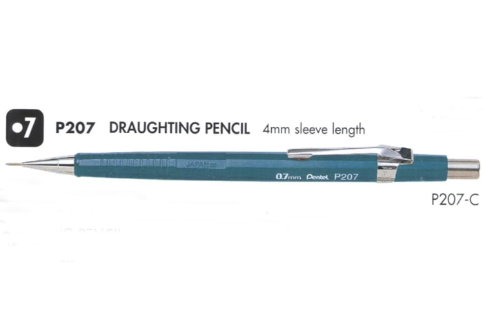 Mechanical Pencils - P207 Draughting Pencil