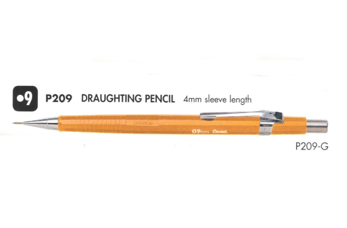 Mechanical Pencils - P209 Draughting Pencil
