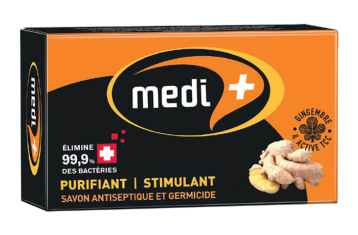 Medi + Antiseptic Soap with Ginger