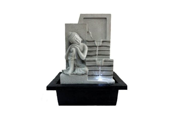 Meditating Buddha Water Feature