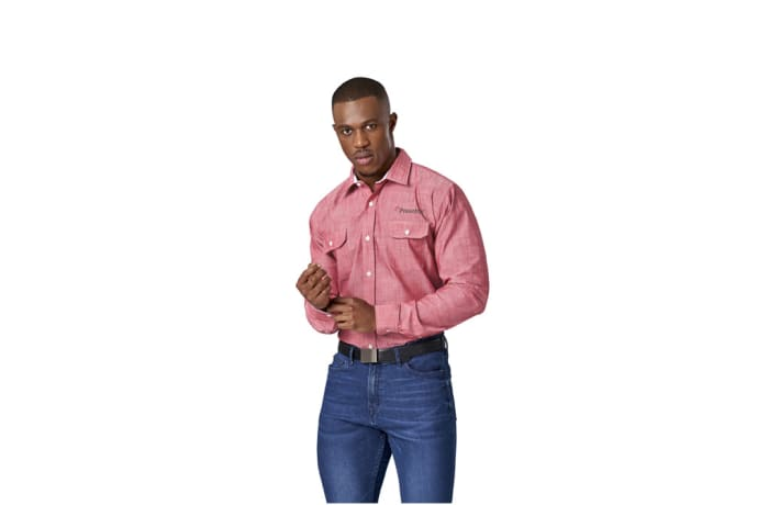 Mens Long Sleeve Windsor Shirt
