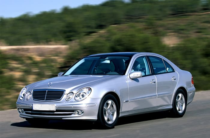 Mercedes Benz E-240 - Per day - within and outside Lusaka