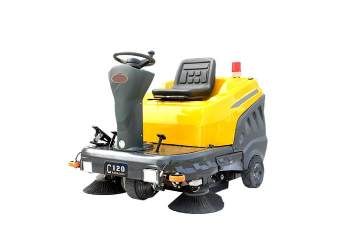 C120 Ride on Industrial Sweeper