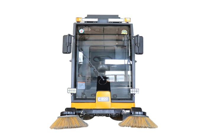 C200 Ride on Road Sweeper