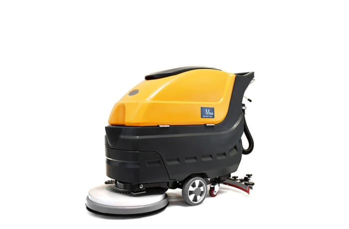M55a  Automatic Walk behind Industrial Floor Scrubber