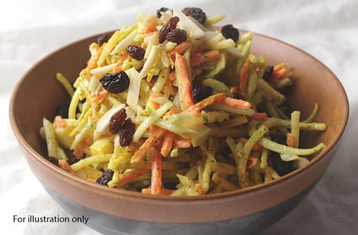 Luxury Wedding Package - Starters - Coleslaw with Raisins