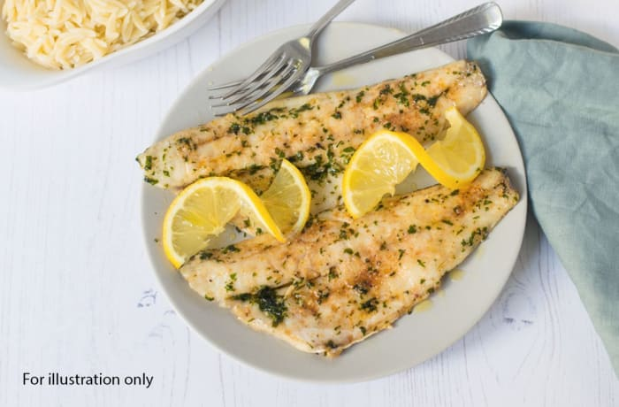 Deluxe Wedding Package - Main Course - Grilled Fish Fillet with Lemon and Herb