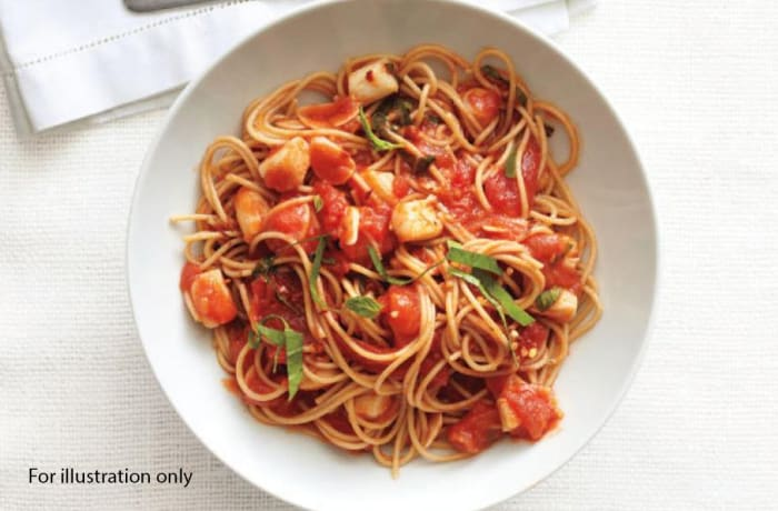 Deluxe Wedding Package - Starter - Spaghetti with Red and White Onion