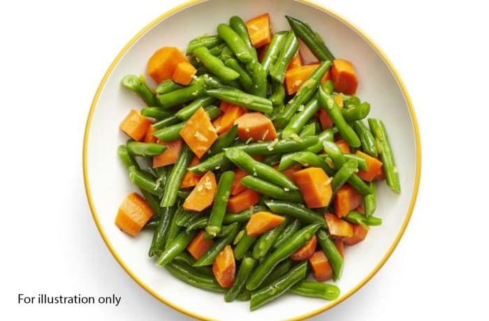 Luxury Wedding Package - Accompaniments - Buttered Carrots and Green Beans