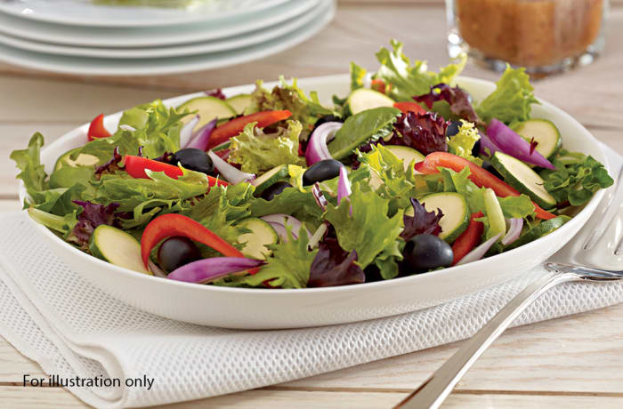 Wedding Menu Option 3 - Starters - Garden Salad