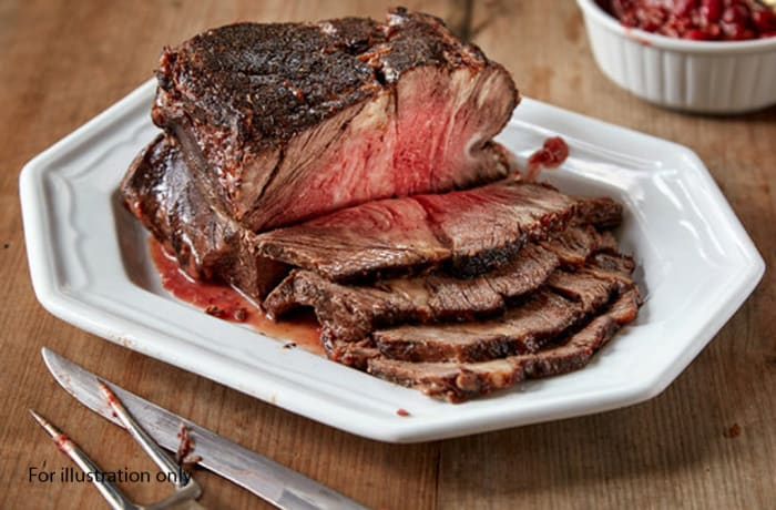 Prestigious Wedding Package - Main Course - Beef minute steak and Cranberry sauce