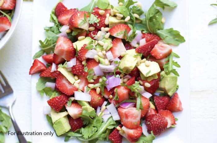 Prestigious Wedding Package - Starters - Strawberry Avocado Salads