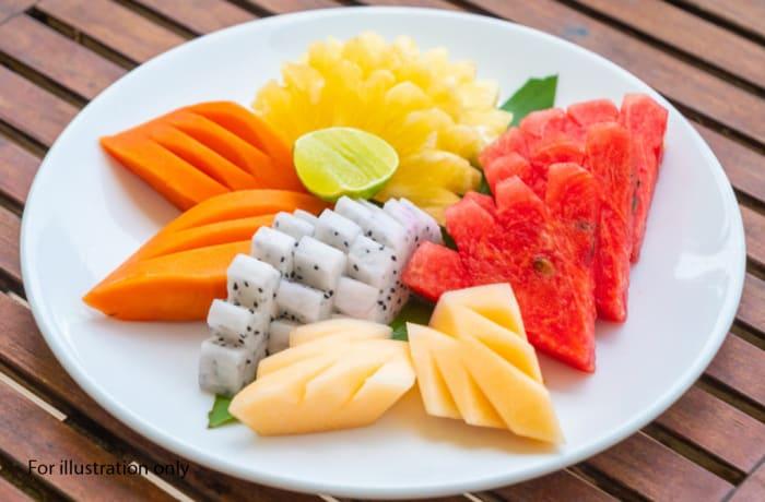 Deluxe Wedding Package - Dessert - Assorted Sliced Fruits