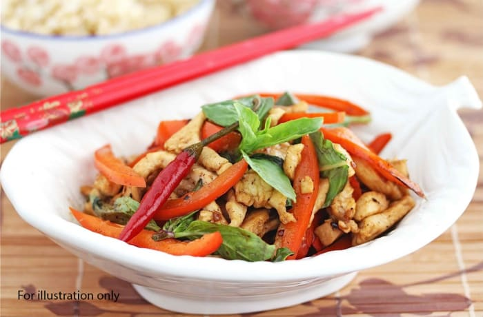 Superior Wedding Package - Main Course - Chicken Stir Fry in Thai Style