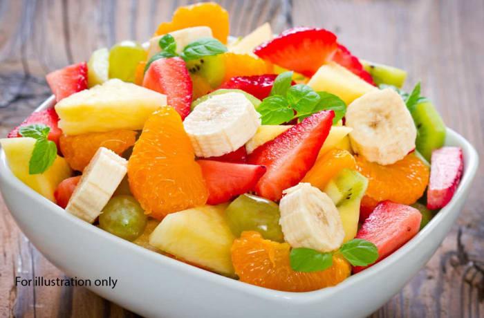 Traditional Wedding Package - Dessert - Medley sliced fruit salad