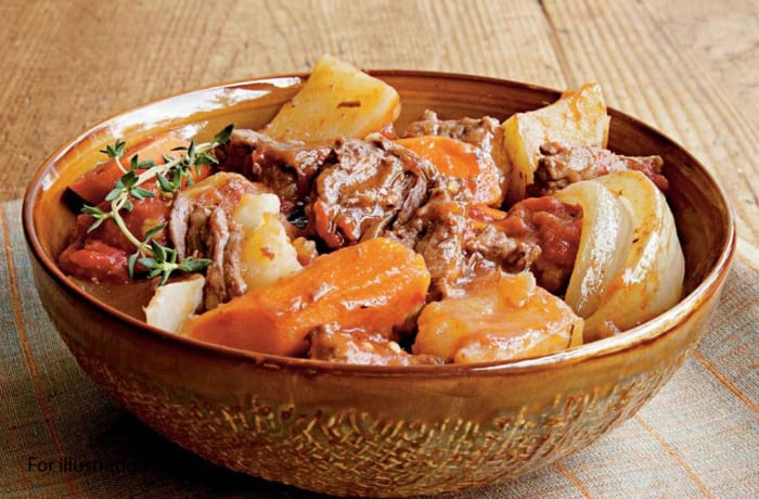 Milile Wedding Option 3 - Main Course - Beef Stew