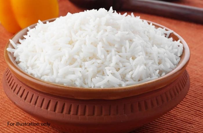 Traditional Wedding Package - Main Course - Steamed Rice
