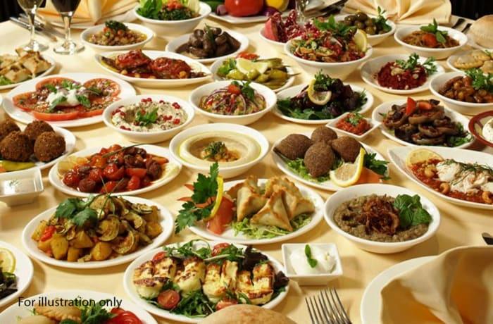 Banquet and Wedding Menu - Option 2