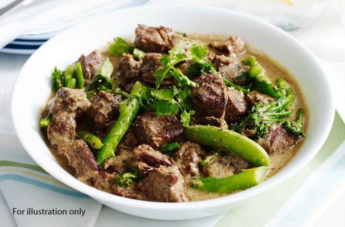 Wedding Menu Option 2 - Main Course - Coriander Thai Beef