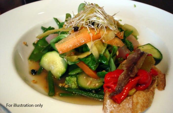 Wedding Menu Option 5 - Main Course - Mixed Seasonal Vegetables
