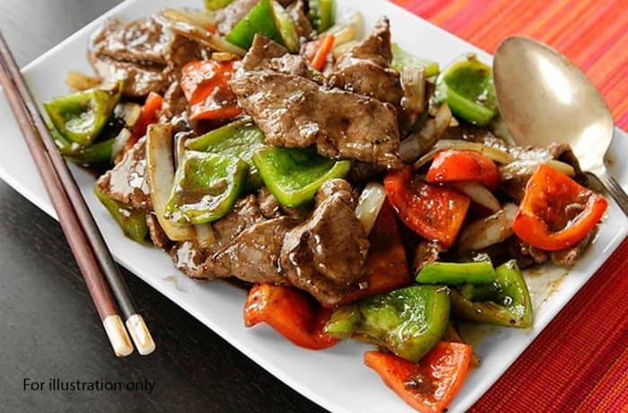 Wedding Menu Option 4 - Main Course - Pepper Steak