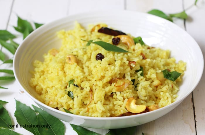 Wedding Menu Option 2 - Main Course - Turmeric Rice