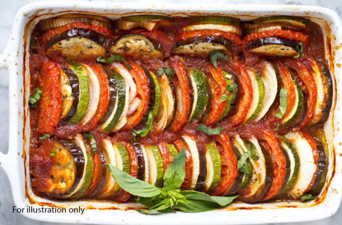 Milile Wedding Option 5 - Accompaniment - Vegetable Ratatouille