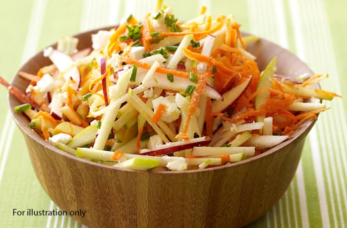 Wedding Menu Option 5 - Starters - Celery and Carrot with Green Apples
