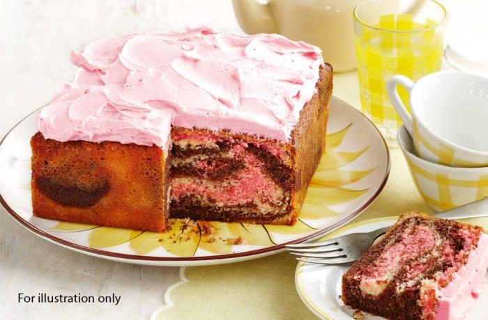 Wedding Menu Option 5 - Dessert - Marble Cake