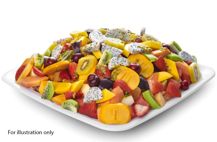 Wedding Menu Option 5 - Dessert - Sliced Fruit Platter