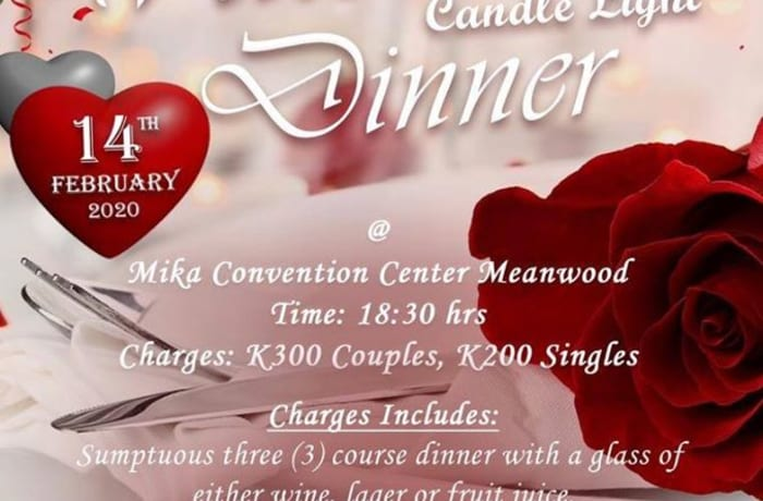 Valentine's candlelight dinner with live band image