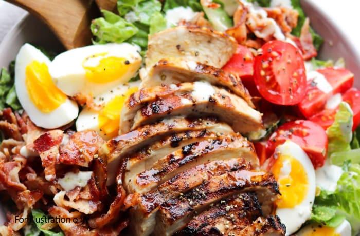 Buddah Bowls - Cold - Skinny Chicken Caesar