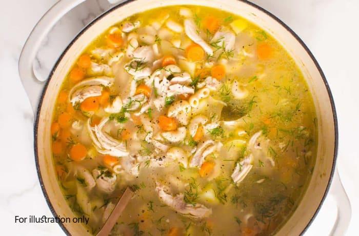 Buddah Bowls - Warm - Chicken Noodle Broth