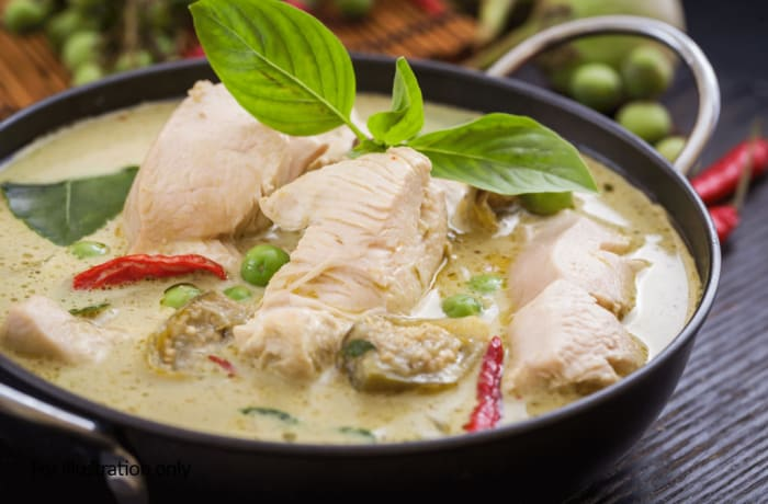 Buddah Bowls - Warm - Green Chicken Curry