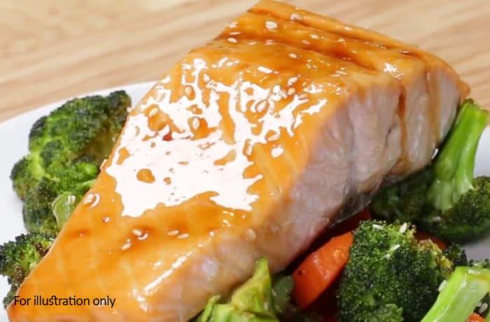 Main Gains - Teriyaki Salmon