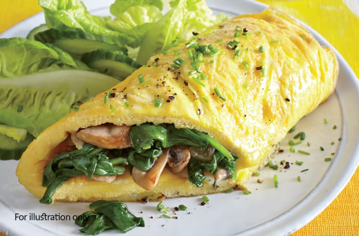 Rise & Shine - Loaded Omelet
