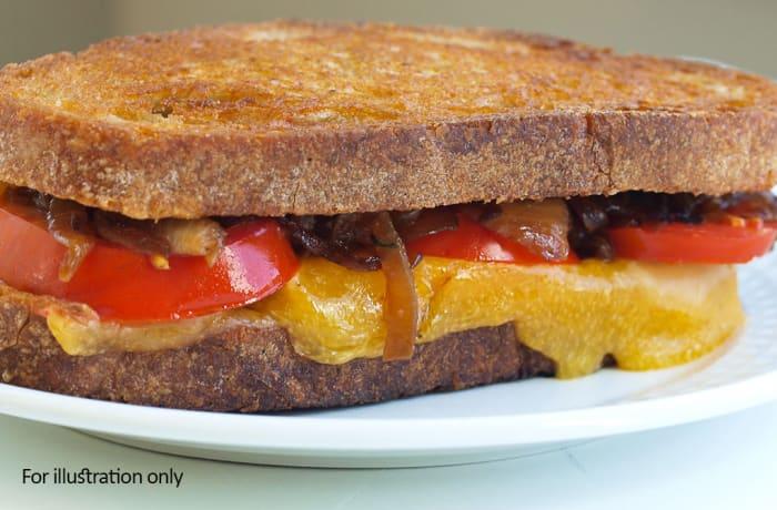 Toasties - Cheese & Tomato