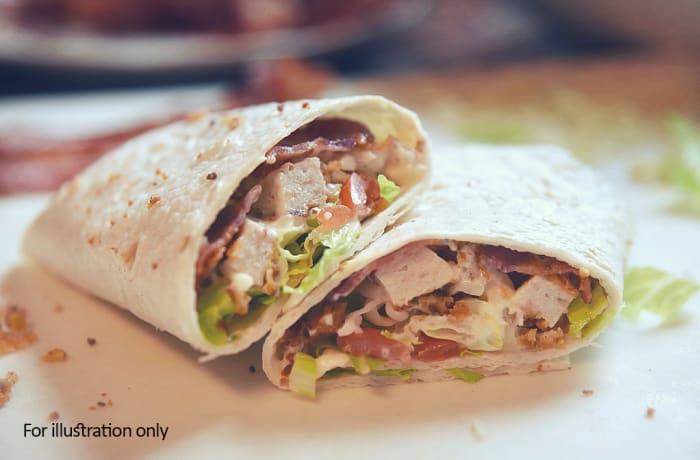 Wraps - Chicken & Bacon