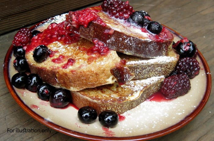 Breakfast - Berry French Toast