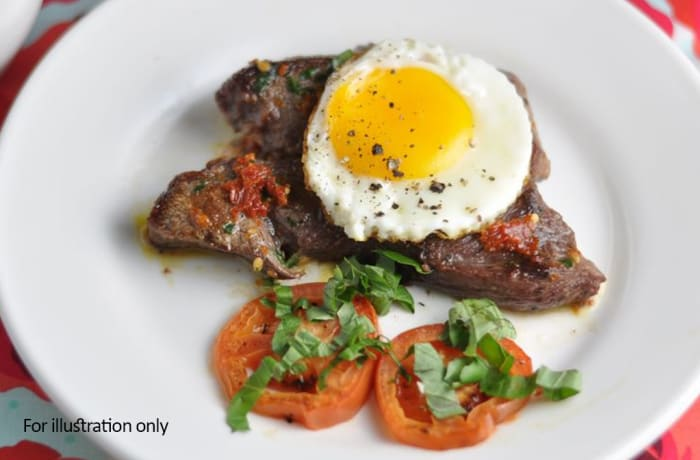 Breakfast - Steak and Egg