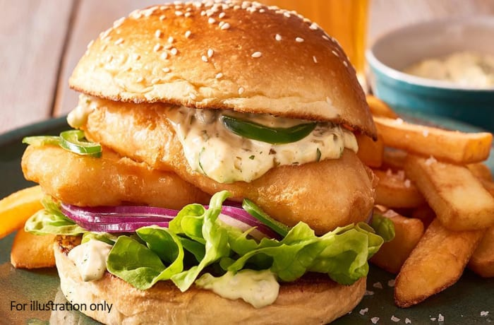Burgers - Fish Burger
