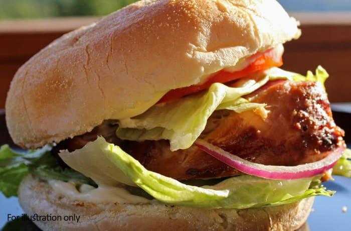 Burgers - Summer in Hawaii