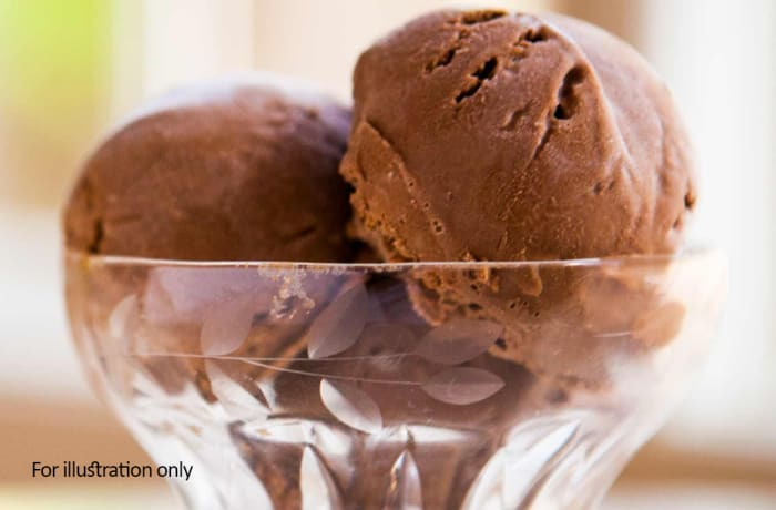 Dessert - Ice-Cream Chocolate plain