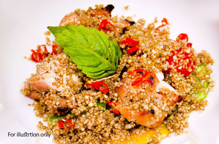 Easy Eating - Herbed Cous Cous Chicken