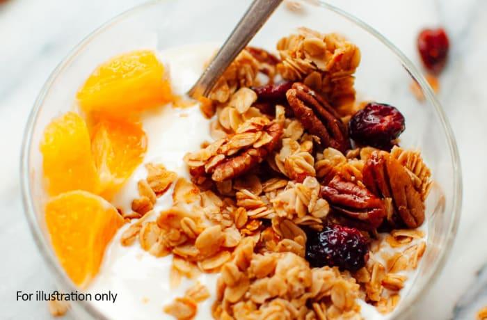 Healthy Mornings - Fruit Salad Crunch