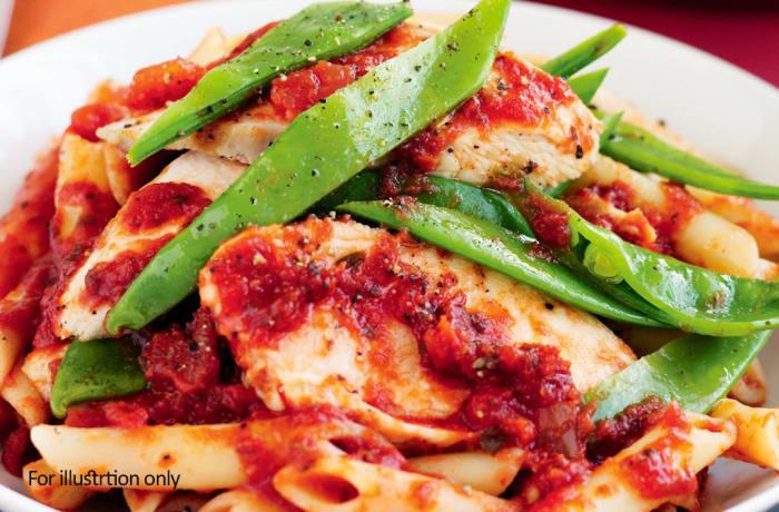 Pasta - Chicken and Tomato Salsa Pasta