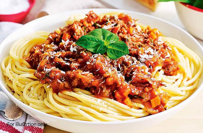 Pasta - Spaghetti Bolognese