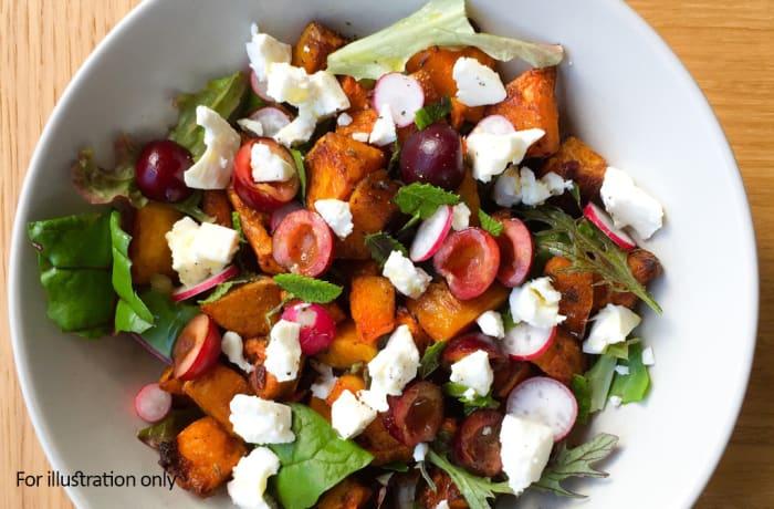 Salads - Butternut and Feta Salad - Vegetarian