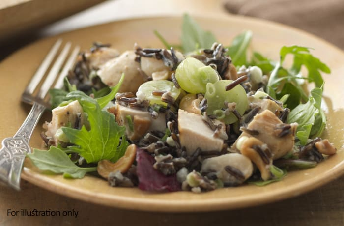 Salads - Smoked Chicken with Wild Rice Salad