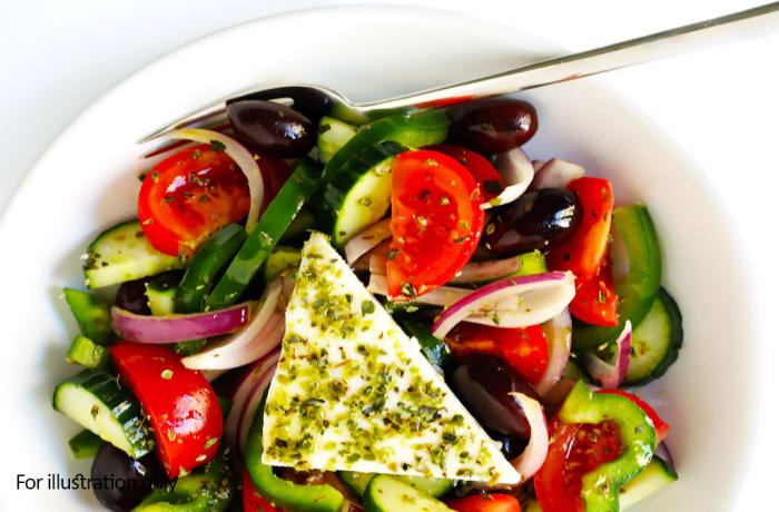 Salads - Traditional Greek Salad - Vegetarian